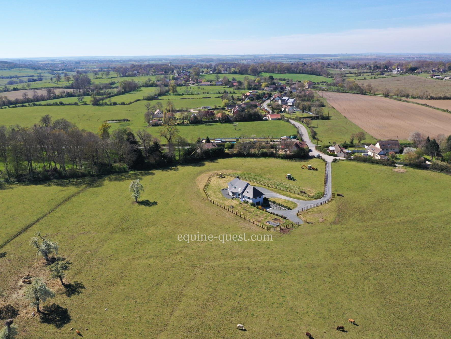 Stud farm property- Caen area- 40 hectares